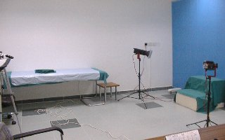 Medical photography room